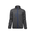 Zip Front Soft Shell kappa med Jersey Material